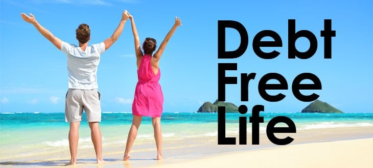 Steps to staying free of debt